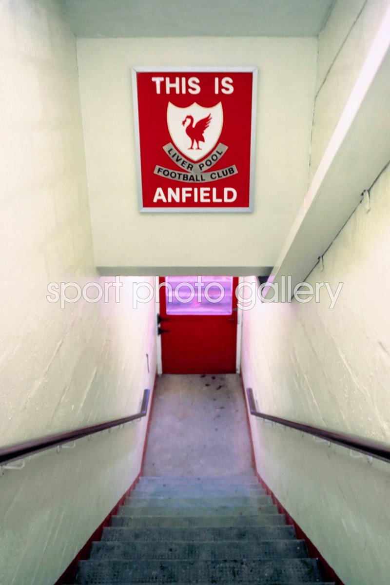 This Is Anfield Liverpool 1990 Print Football Posters