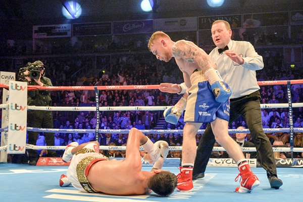 Carl Frampton v Chris Avalos Belfast 2015