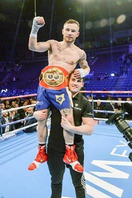 Carl Frampton IBF World Super Bantamweight Champion 2105
