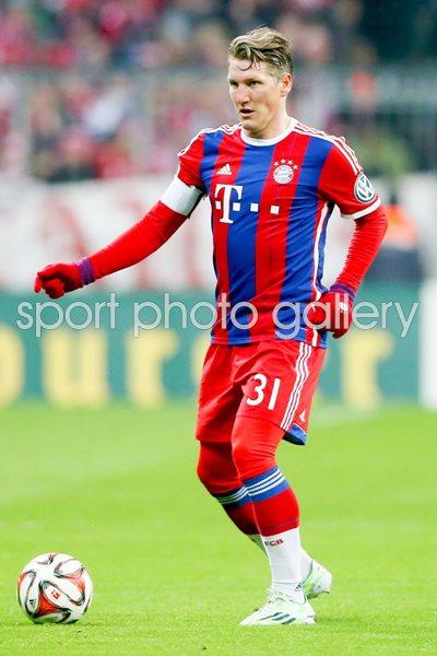 Bastian Schweinsteiger Bayern DFB Cup 2015