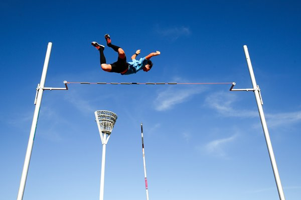 Angus Armstrong Pole Vault Sydney Track Classic 2015