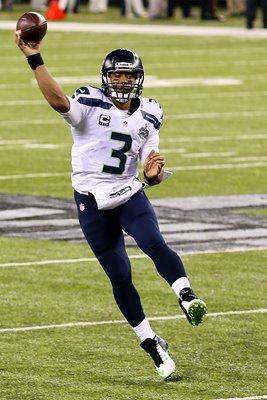 Russell Wilson Super Bowl XLVIII - Seattle Seahawks 2014