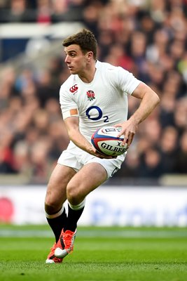 George Ford England v Scotland Twickenham 2015