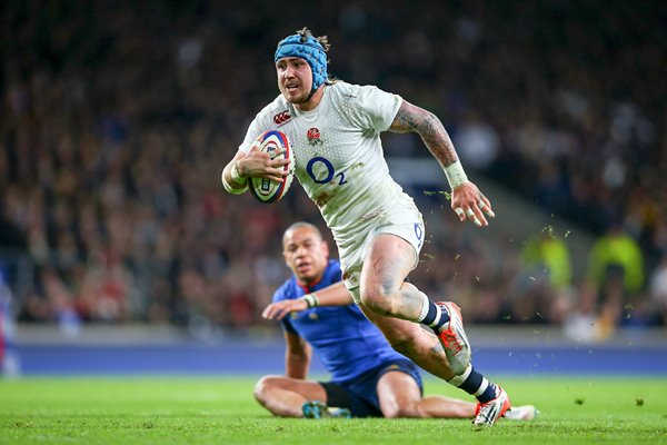 Jack Nowell try England v France 6 Nations Twickenham 2015