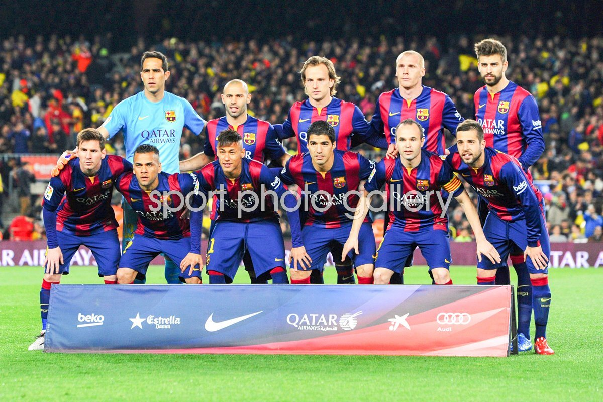 Barcelona v Real Madrid 2015