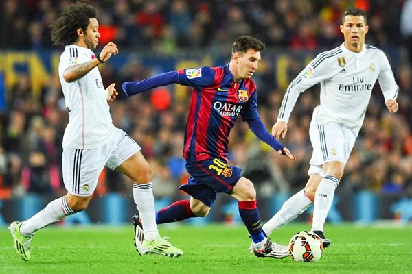 Lionel Messi Barcelona v Real Madrid 2015
