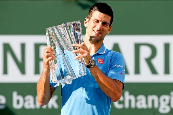 2015 Novak Djokovic BNP Paribas Open