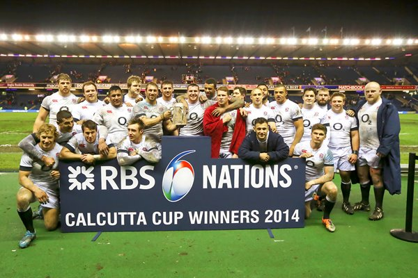 England Calcutta Cup Winners Murrayfield Six Nations 2014