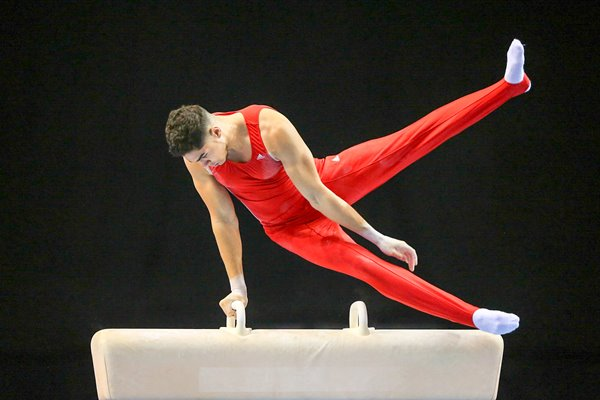 Louis Smith Artistic British Championships 2015