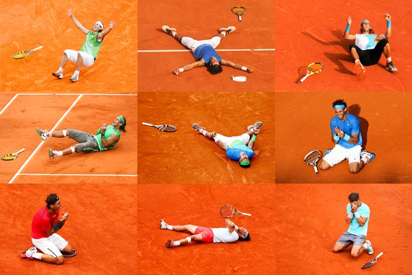 9 French open wins Rafael Nadal King Of Clay