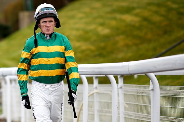 Jockey Tony McCoy Chepstow Races 2015