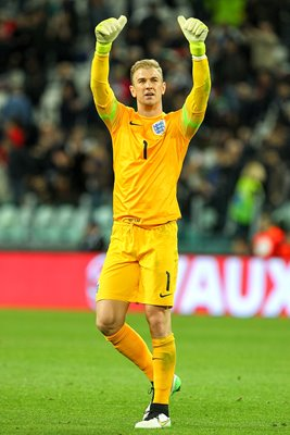 Joe Hart England v Italy Friendly 2015