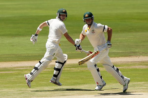 Steve Smith & Shaun Marsh Australia v South Africa 2014