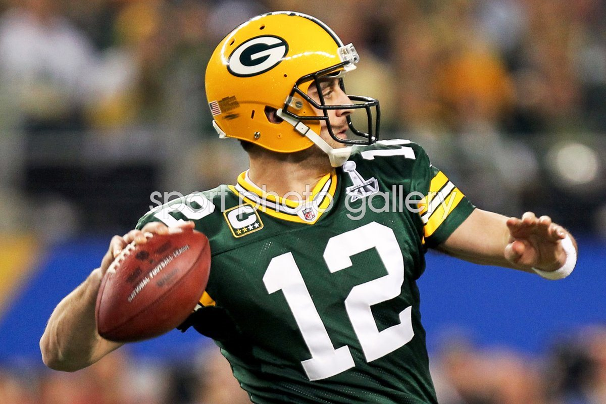 Aaron Rodgers Quater back of the Green Bay Packers Super Bowl XLV