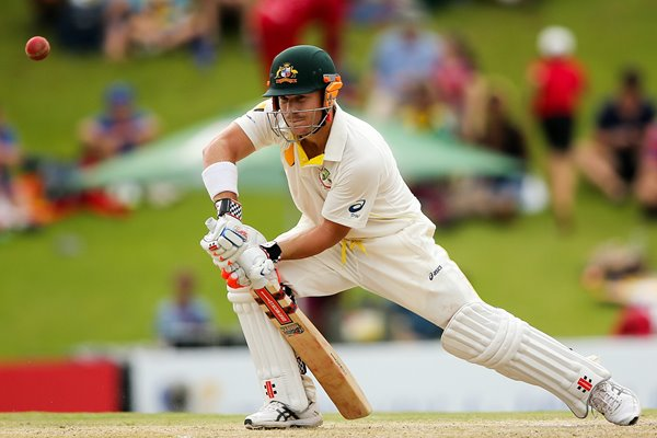 David Warner Australia v South Africa Centurion 2014