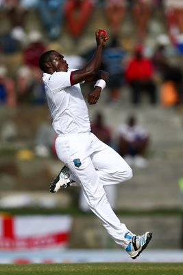 Jerome Taylor West Indies v England Antigua 2015