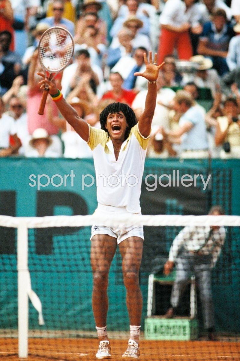 French Open Photo | Tennis Posters | Yannick Noah