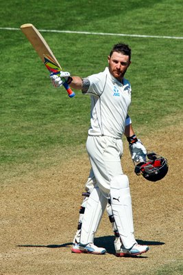 Brendon McCullum New Zealand v India Wellington 2014