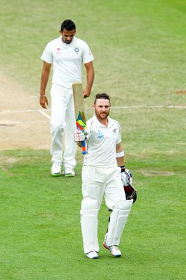 Brendon McCullum New Zealand 300 v India Wellington 2014