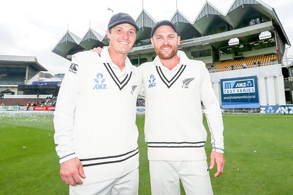 Brendon McCullum & BJ Watling New Zealand Wellington 2014
