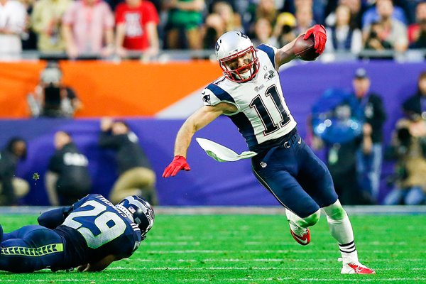 Julian Edelman New England Patriots
