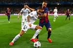 Gregory van der Wiel Paris Saint-Germain v Barcelona Camp Nou 2015 Prints