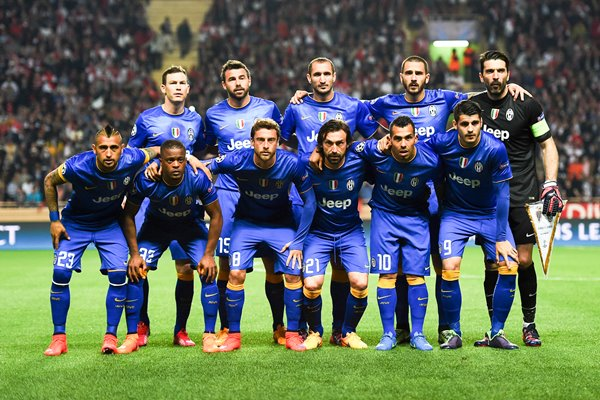 Juventus team UEFA Champions League 2015