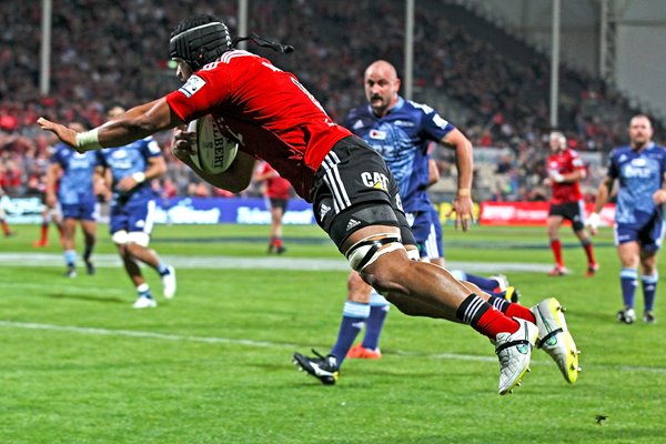 Jordan Taufua Crusaders v Blues 2015