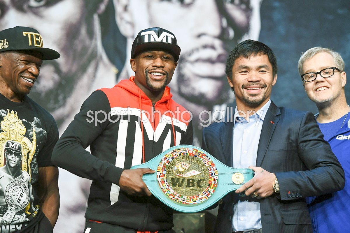 Floyd Mayweather Jr. v Manny Pacquiao News Conference 2015