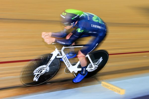 Alex Dowsett UCI Hour Record Attempt 2015