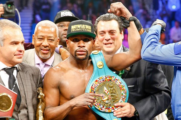 Floyd Mayweather Jr. MGM Grand 2015