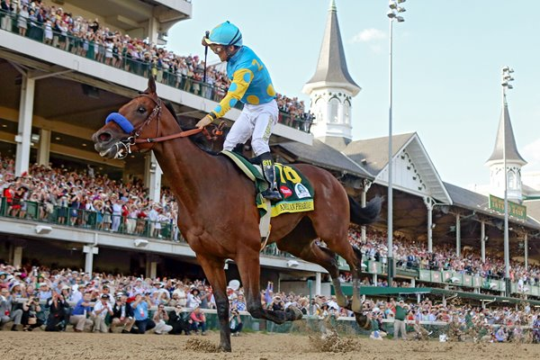 American Pharoah wins 2015 Kentucky Derby Churchill Downs