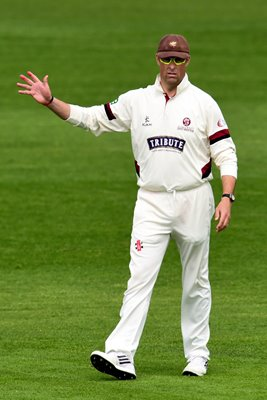 Marcus Trescothick Somerset v Worcestershire 2015