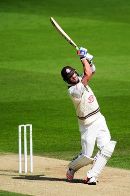 Kevin Pietersen Surrey v Leicestershire 2015