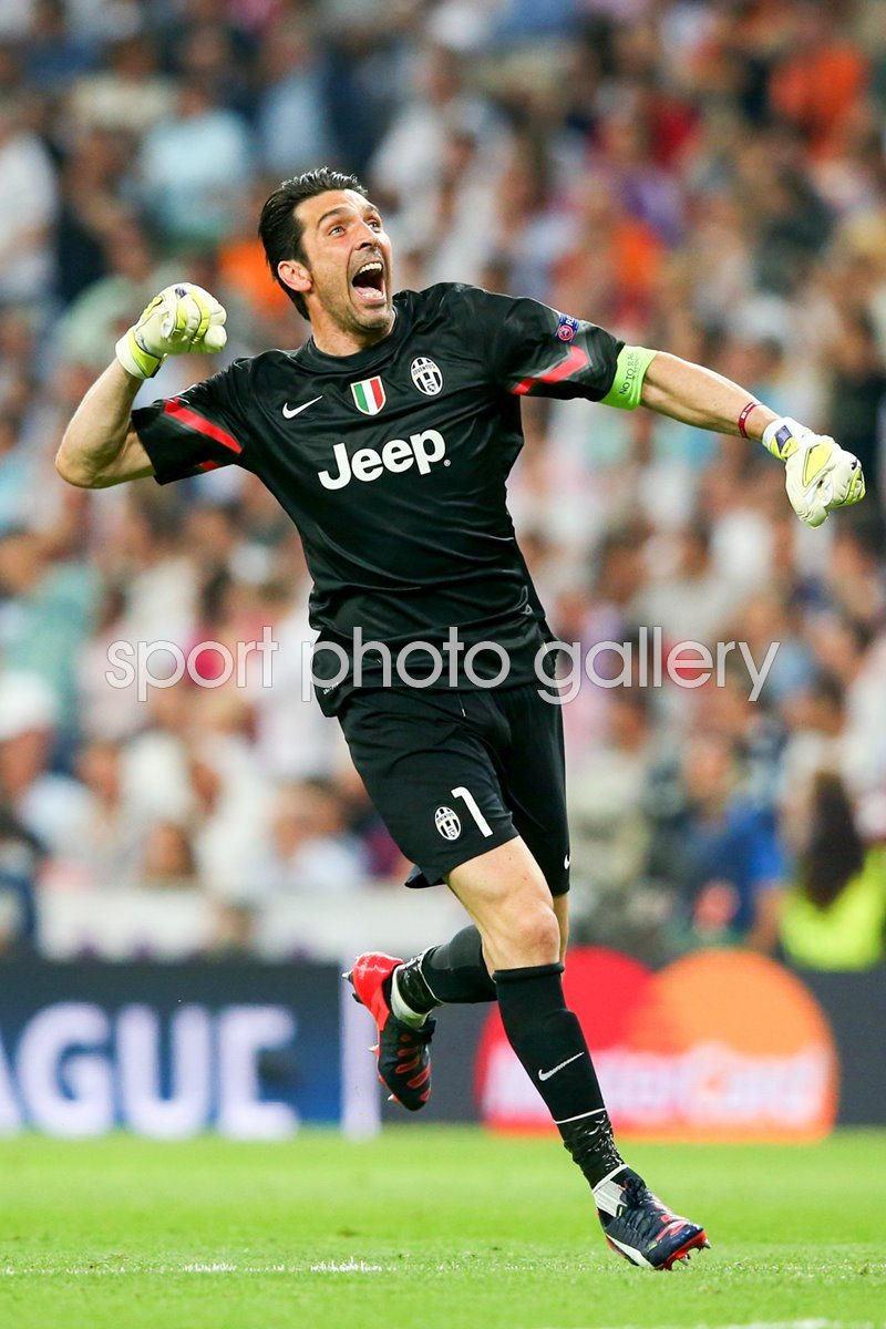 Goalkeeper Gianluigi Buffon Juventus Semi Final 2015