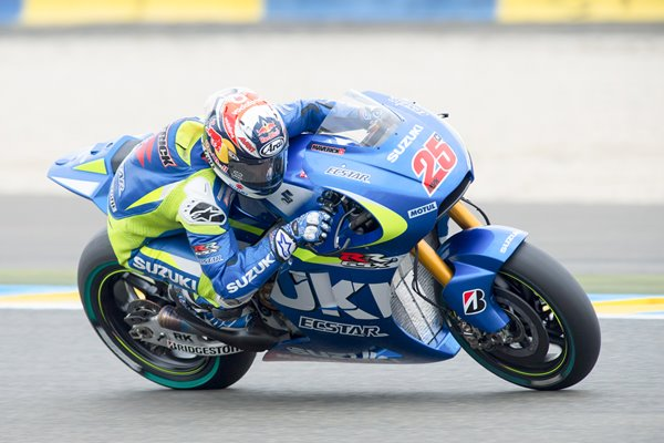 Maverick Vinales Suzuki 2015 MotoGP of France