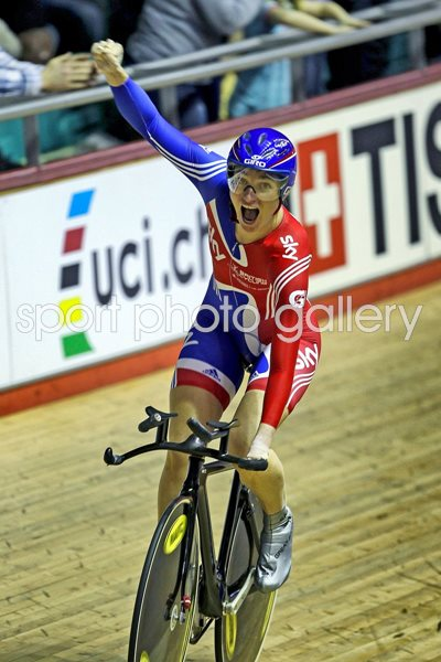 Sarah Storey UCI Track Cycling World Cup 2011
