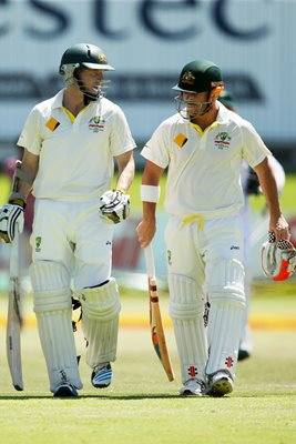 Australian Openers David Warner & Chris Rogers 2014