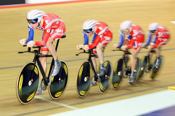 Burke, Clancy, Thomas and Wiggins - Worlds 2011