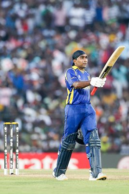 Mahela Jayawardena of Sri Lanka World Cup Century