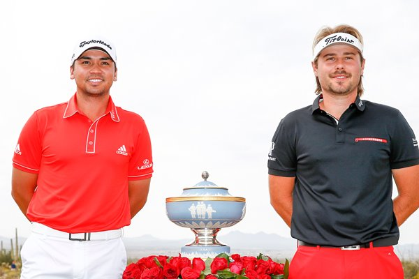 Victor Dubuisson & Jason Day WGC Matchplay Final Arizona 2014