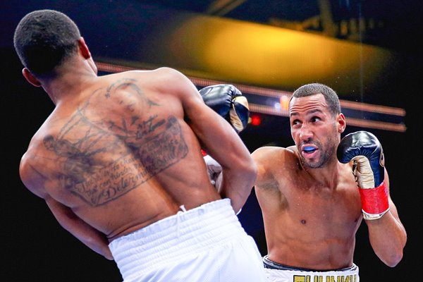Andre Dirrell v James DeGale Boston 2015