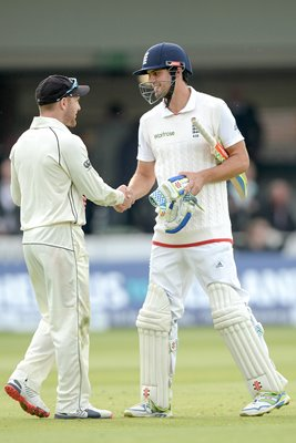 Alastair Cook & Brendon McCullum Lords 2015