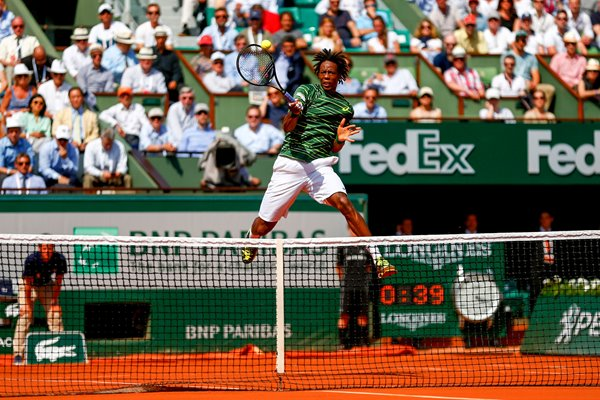 Gael Monfils French Open 2015