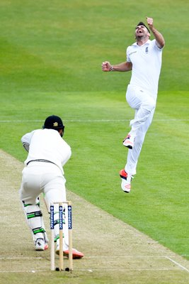400 Test Wickets James Anderson  Headingley 2015