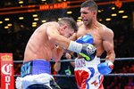 Amir Khan v Chris Algieri New York 2015 Frames