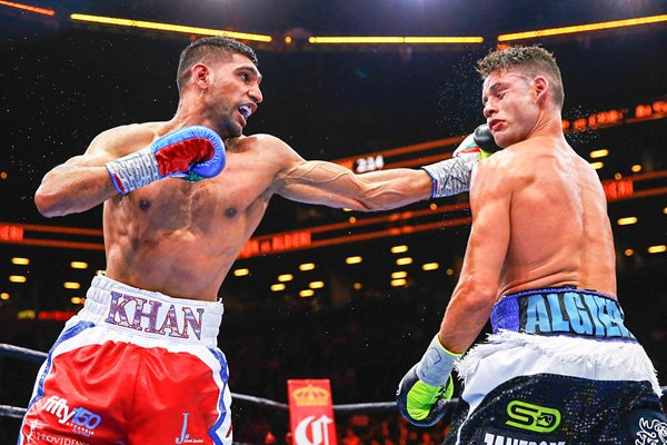 Amir Khan v Chris Algieri New York 2015