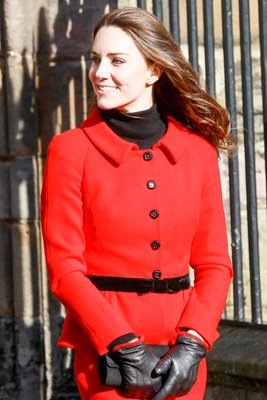Kate Middleton Visits St Andrews 2011