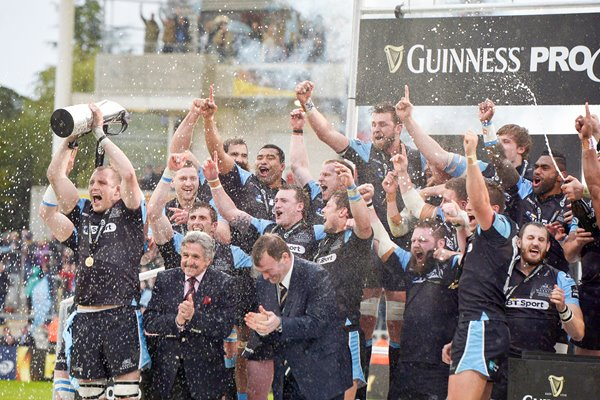 Glasgow Warriors Guinness Pro 12 Champions 2015