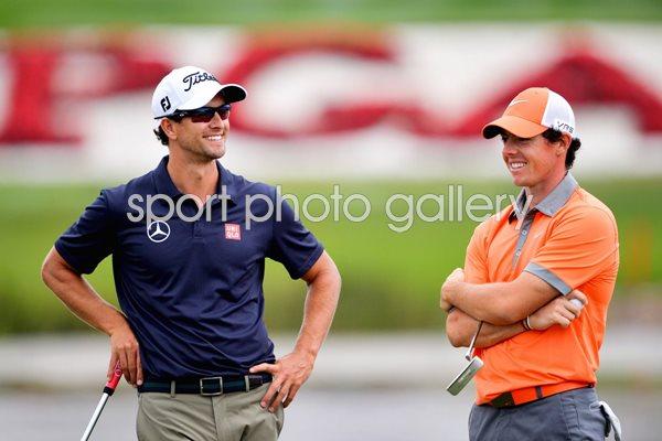 World Golf Championships Photo | Golf Posters | Adam Scott